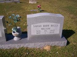 Sarah Ellis Barr <i>Biggs</i> Milton