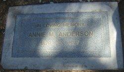 Annie M Anderson