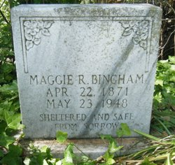 Margaret Rebecca <i>Gable</i> Bingham