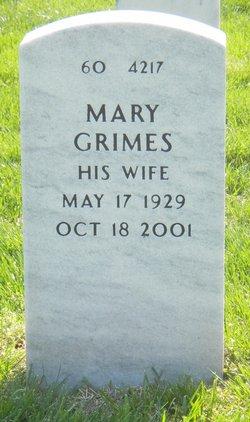 Mary <i>Grimes</i> Rahn