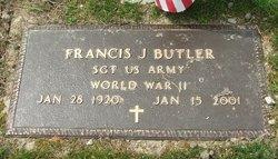 Francis J Butler