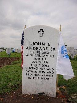 PFC John E Andrade, Sr