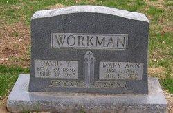 Mary Ann <i>Bilyeu</i> Workman