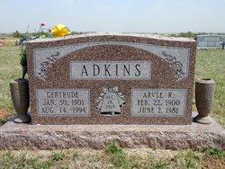 Gertrude <i>Summers</i> Adkins