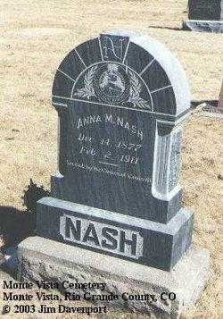 Anna Mehethalem Hettie <i>Strawn</i> Nash