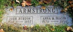 Anna M <i>Fraser</i> Armstrong
