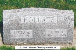 Heinrick Gustav Henry Hollatz