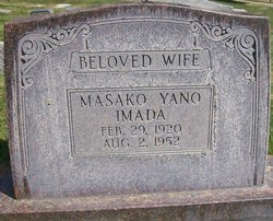 Masako <i>Yano</i> Imada