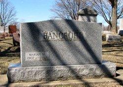 Marian M. Bancroft