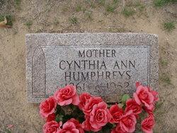 Cynthia Ann <i>Parker</i> Humphreys