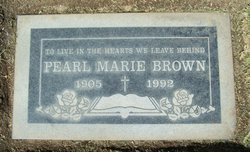 Pearl Marie <i>Gordon</i> Brown