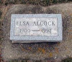 Elsa Louise <i>Kuhrt</i> Alcock