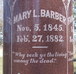 Mary L. Barber