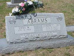Emma <i>Ward</i> Abrams