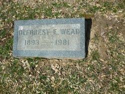 DeForest Emery Wead