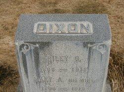 Mary Ann <i>Taylor</i> Dixon