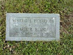 Winifred Elizabeth <i>Richardson</i> Anz
