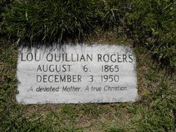 Lou Quillian Rogers