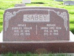 Charles Joshua Sabey