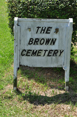 Brown Cemetery  (Rose Hill)