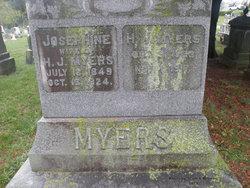 Josephine B. <i>Galloway</i> Myers