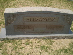 Carl Frazier Alexander