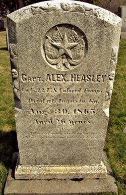 Capt Alexander Heasley