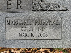 Margaret <i>Murphree</i> Beeler