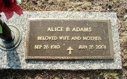 Alice Margaret <i>Bell</i> Adams