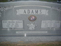 Elzie George Adams