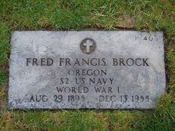 Fred Francis Brock