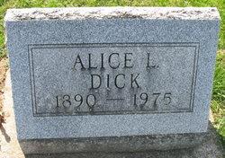 Alice L <i>Grabill</i> Dick