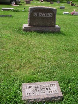 Phoebe M. <i>Halbert</i> Cravens