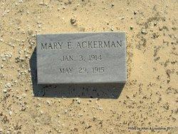 Mary E. Ackerman