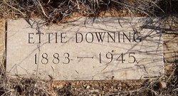 Ettie <i>Hall</i> Downing