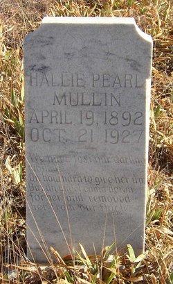 Hallie Pearl <i>Etheridge</i> Mullin