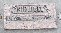 Nancy Carrie <i>Smith</i> Kidwell