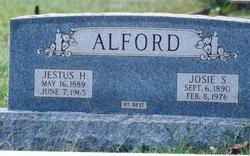Jestus H Alford