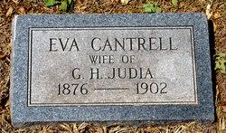 Eva Lillian <i>Cantrell</i> Judia