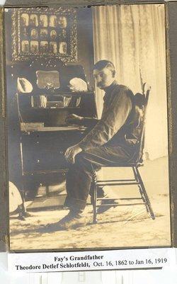 Theodore Detlef Ted Schlotfeldt