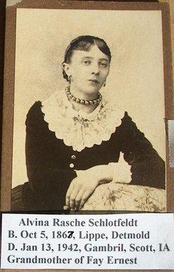 Alvina <i>Rasche</i> Schlotfeldt