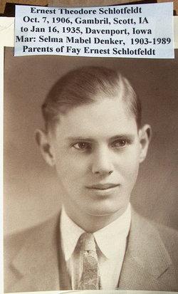 Ernest Theodore Schlotfeldt
