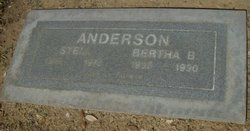 Bertha Belle <i>Stewart</i> Anderson