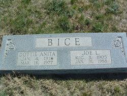 Dottie Anita <i>Hale</i> Bice
