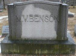 Lucyette E. Lou <i>Merrill</i> Benson