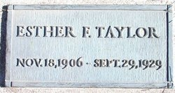 Esther Francis Taylor