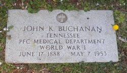John K Buchanan