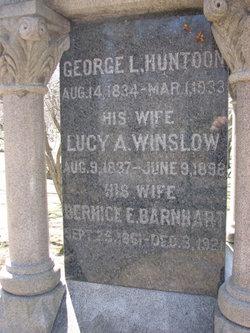 Lucy Almira <i>Winslow</i> Huntoon
