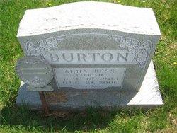 Anna Bess <i>Parrish</i> Burton