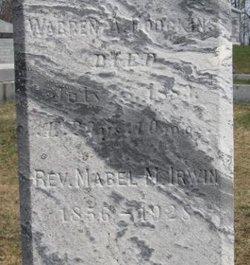 Rev Mabel McCoy <i>Hodgkins</i> Irwin